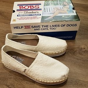 BOBS by sketchers bobs breeze eternal cool white